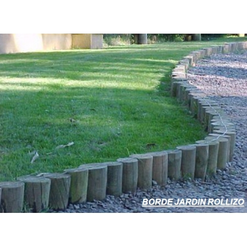 Borde jard n rollizo for O jardin ideal route de montauban bessieres